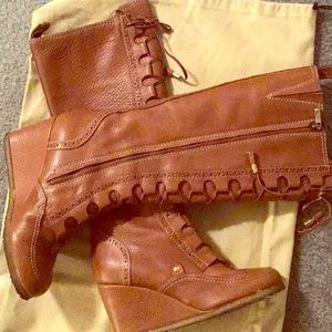 Burberry Wedged Boots
